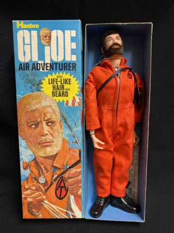 GI JOE - AIR ADVENTURER - BOXED